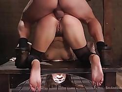 Rimjob porn clips - girl gets rough sex